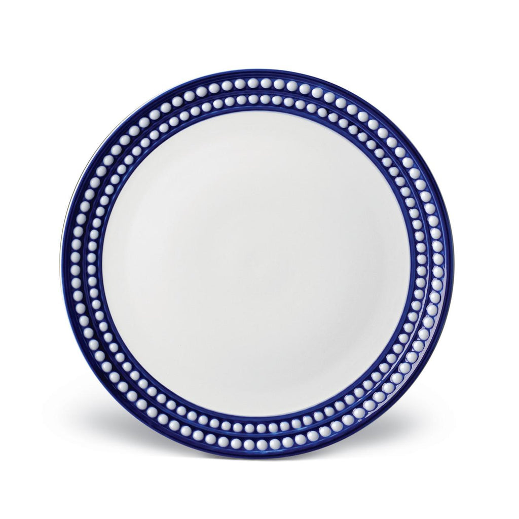 Perlée Blue Dinner Plate