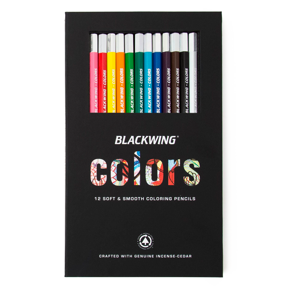 Blackwing Colored Pencils, Set/12