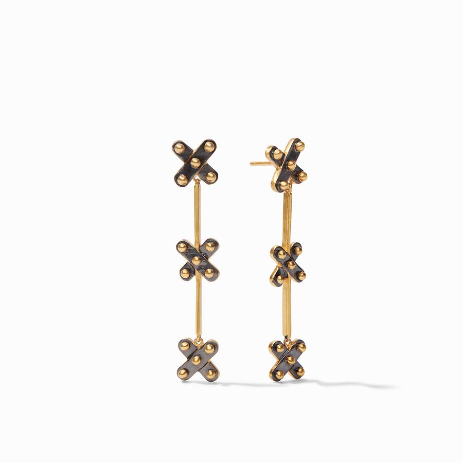 SoHo Mixed Metal Duster Earring