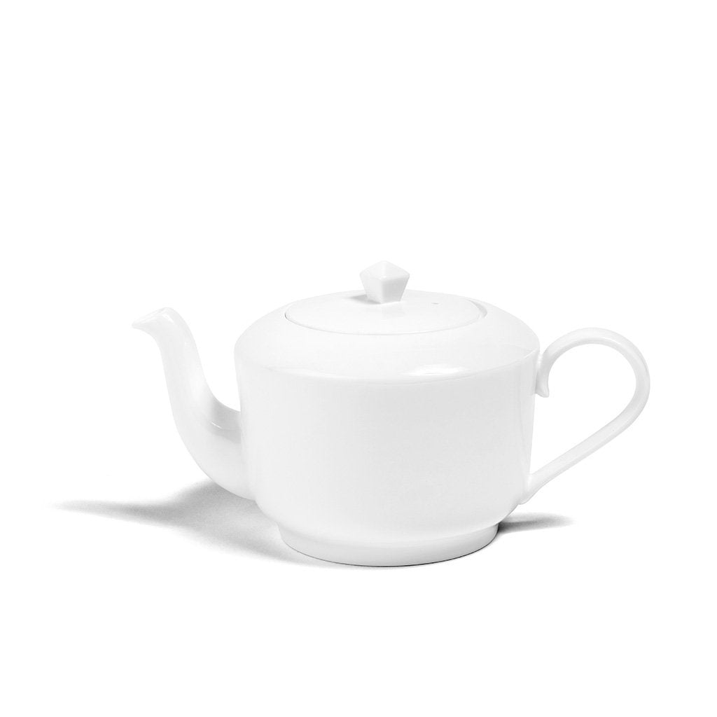 White Medium Teapot