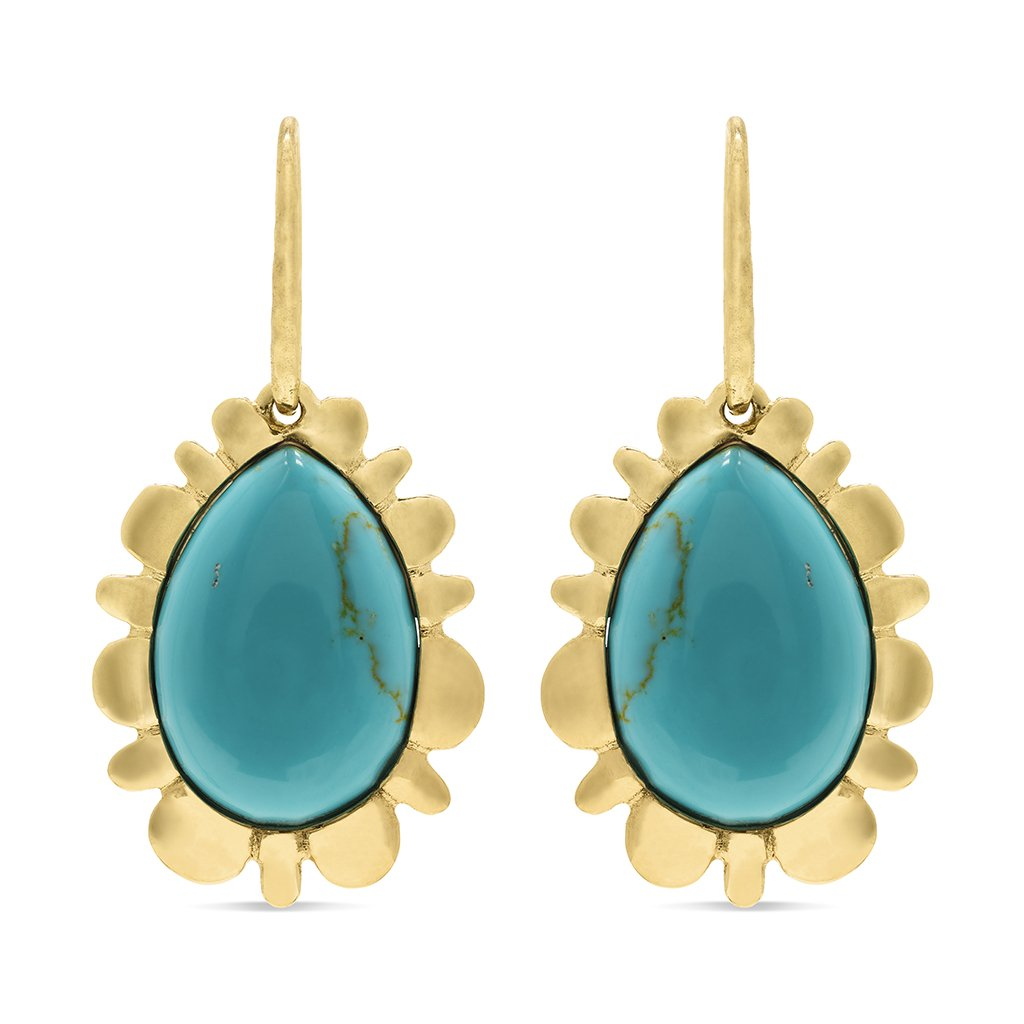 Turquoise Bliss Drop Earrings