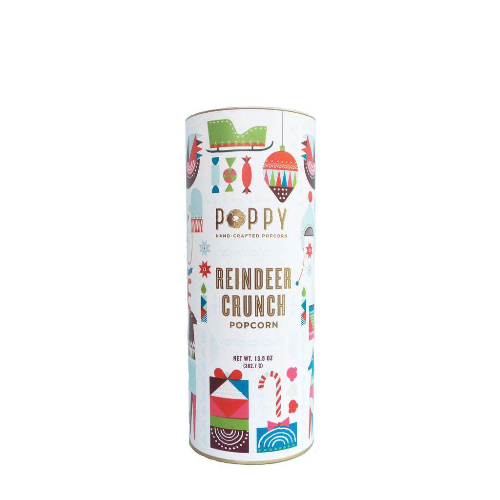 Reindeer Crunch Holiday Cylinder