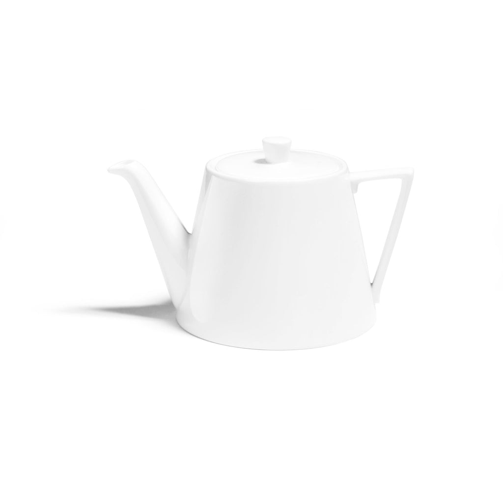 White Deco Large Teapot