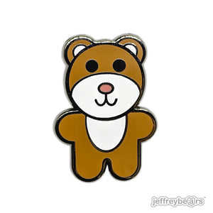 Jeffrey Bear Enamel Pin