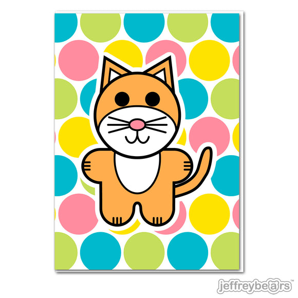 Surfcat Greeting Card