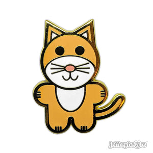 Surfcat Enamel Pin