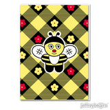 T.V. Bee Greeting Card
