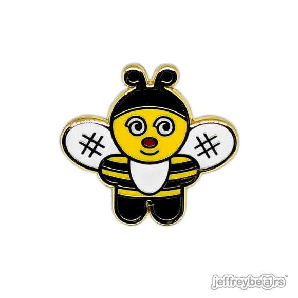 T.V. Bee Enamel Pin