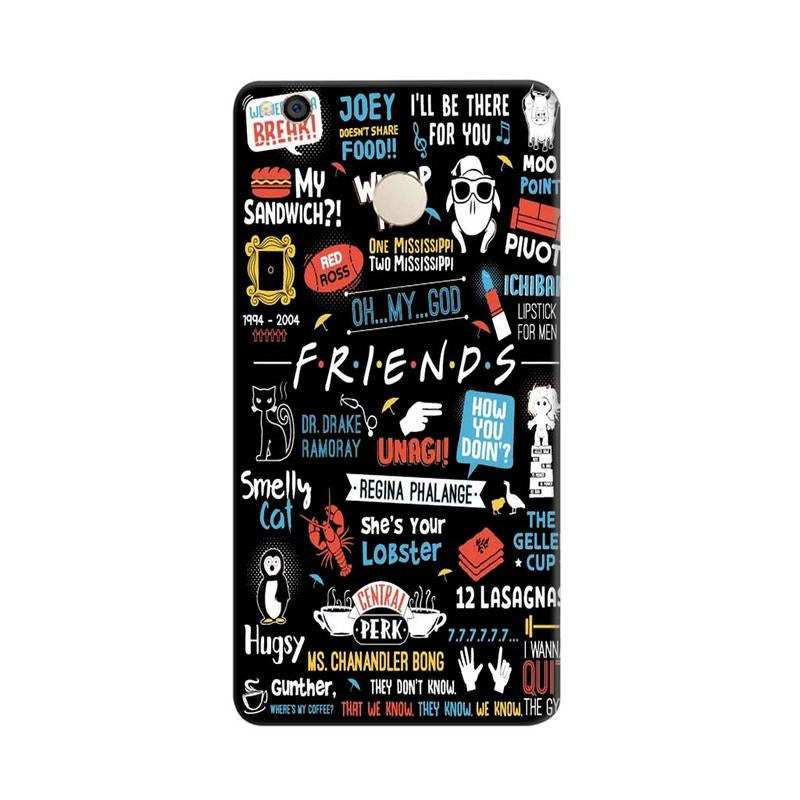 Friends TV Show Series Xiaomi Redmi 4 Mobile Cover