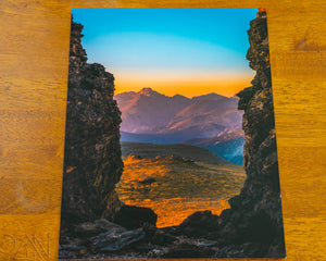 Doorway to a Colorado Sunrise Landscape Photo - Alterned North - Photo Print