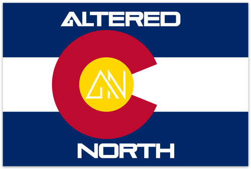 Altered North Colorado Sticker - Alterned North - Sticker