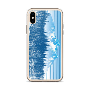 Colorado Rocky Mountain Winter Retro iPhone Case - Alterned North - iPhone Case