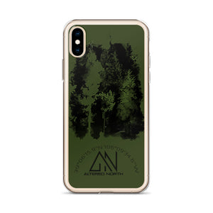 Forest Spotlight iPhone Case - Alterned North - iPhone Case