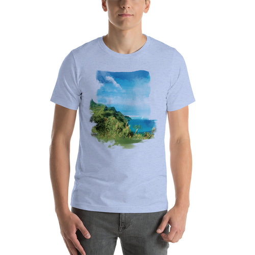 Nā Pali Coast - T-Shirt - Men's - Alterned North - T-Shirt - Men