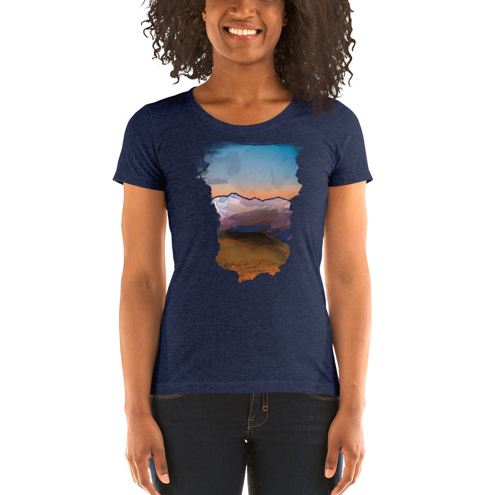 Doorway to a Colorado Sunrise - T-Shirt - Women's - Alterned North - T-Shirt - Women