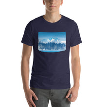 Load image into Gallery viewer, Colorado Rocky Mountain Winter Retro - T-Shirt - Men's - Alterned North - T-Shirt - Men