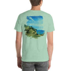 Nā Pali Coast - T-Shirt - Men's - Design on Back - Alterned North - T-Shirt - Men