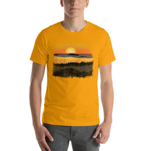 Oregon Coast Sunset - T-Shirt - Men's - Alterned North - T-Shirt - Men