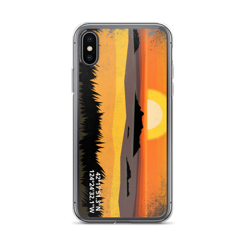 Oregon Coast Sunset iPhone Case - Alterned North - iPhone Case