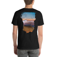 Load image into Gallery viewer, Doorway to a Colorado Sunrise - T-Shirt - Men's - Design on Back - Alterned North - T-Shirt - Men