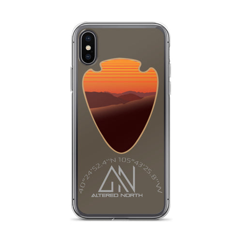 Rocky Mountain Orange Sunrise iPhone Case - Alterned North - iPhone Case