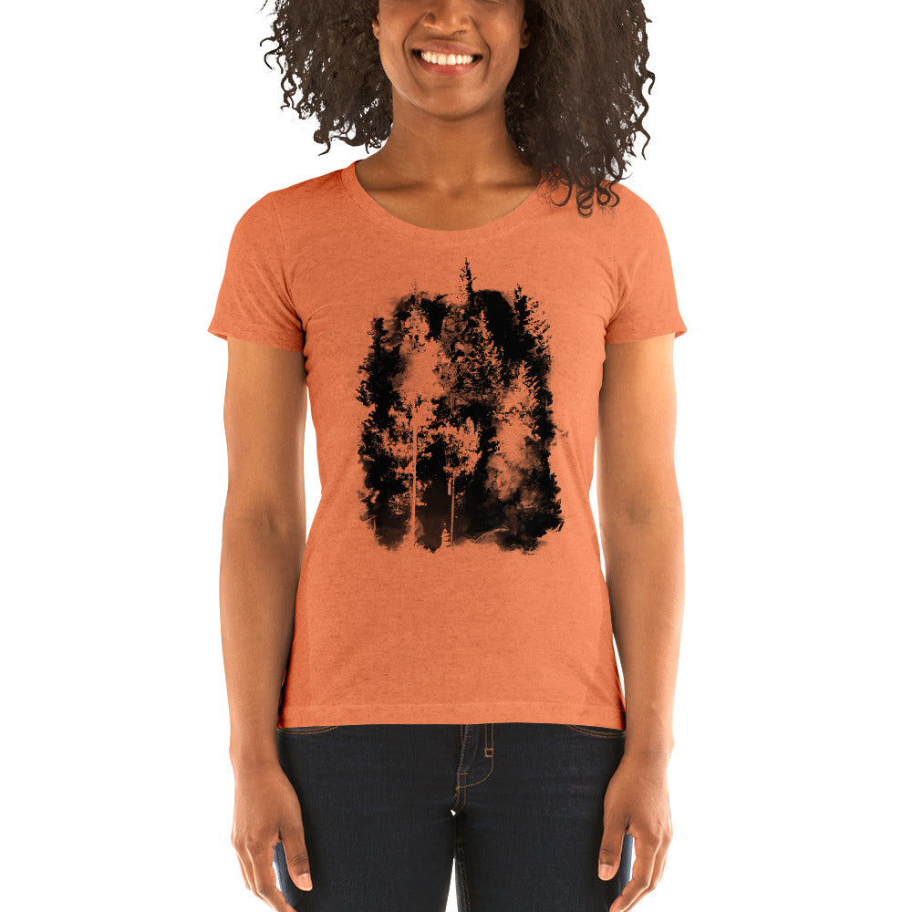 Forest Spotlight - T-Shirt - Women's - Alterned North - T-Shirt - Women