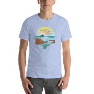 Pistol Beach Oregon - T-Shirt - Men's - Alterned North - T-Shirt - Men