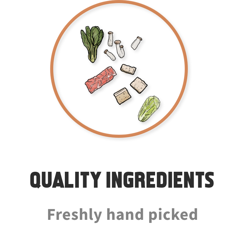 Quality Ingredients | Eatoo UK