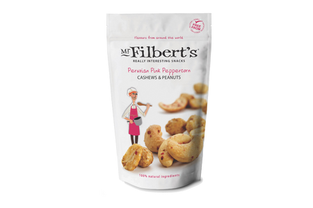 Peruvian Pink Peppercorn Cashews & Peanuts | Eatoo UK