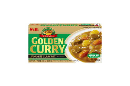 S&B Goden Curry Roux中號熱賣| Eatoo  UK
