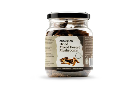 Cooks & co Dried Mixed Forest Mushrooms | Eatoo UK