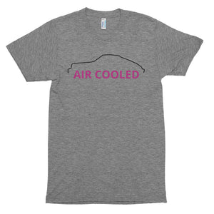 AIR COOLED - Porsche Men's Short Sleeve Tri-Blend Soft T-shirt