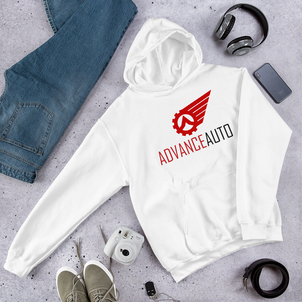 Soft Hooded Sweatshirt with Advance Auto Logo