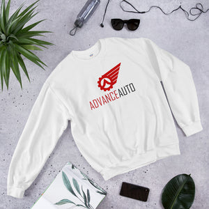 Crewneck Sweatshirt with Advance Auto Logo