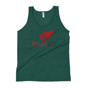 Unisex Tank Top with Advance Auto Logo