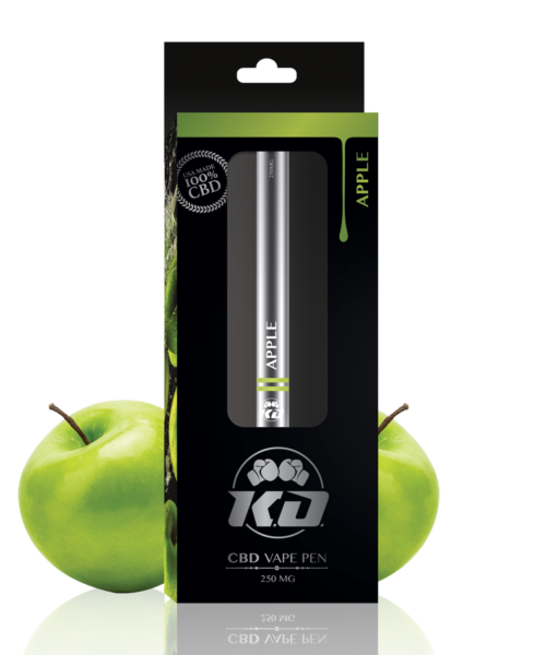 APPLE CBD VAPE PEN BY KNOCKOUT CBD