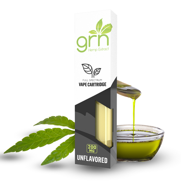 UNFLAVORED CBD CARTRIDGE BY GRN CBD