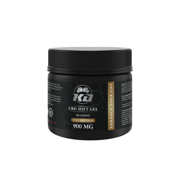 FULL SPECTRUM SOFT GEL CAPSULES BY KNOCKOUT CBD