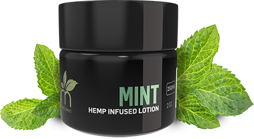 MINT CBD LOTION BY GRN CBD