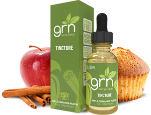 APPLE CINNAMON CBD TINCTURE BY GRN CBD 30ML
