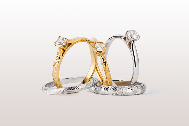 Goddess rings in the NEW Heritage Collection