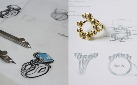 The Bespoke Design Service. Exquisite jewellery created exclusively