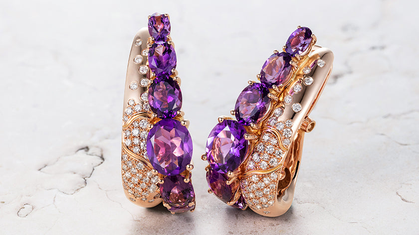 February's Gemstone of the Month: Amethyst