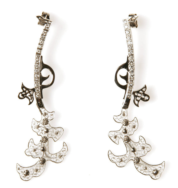 Bespoke Filigree Earrings