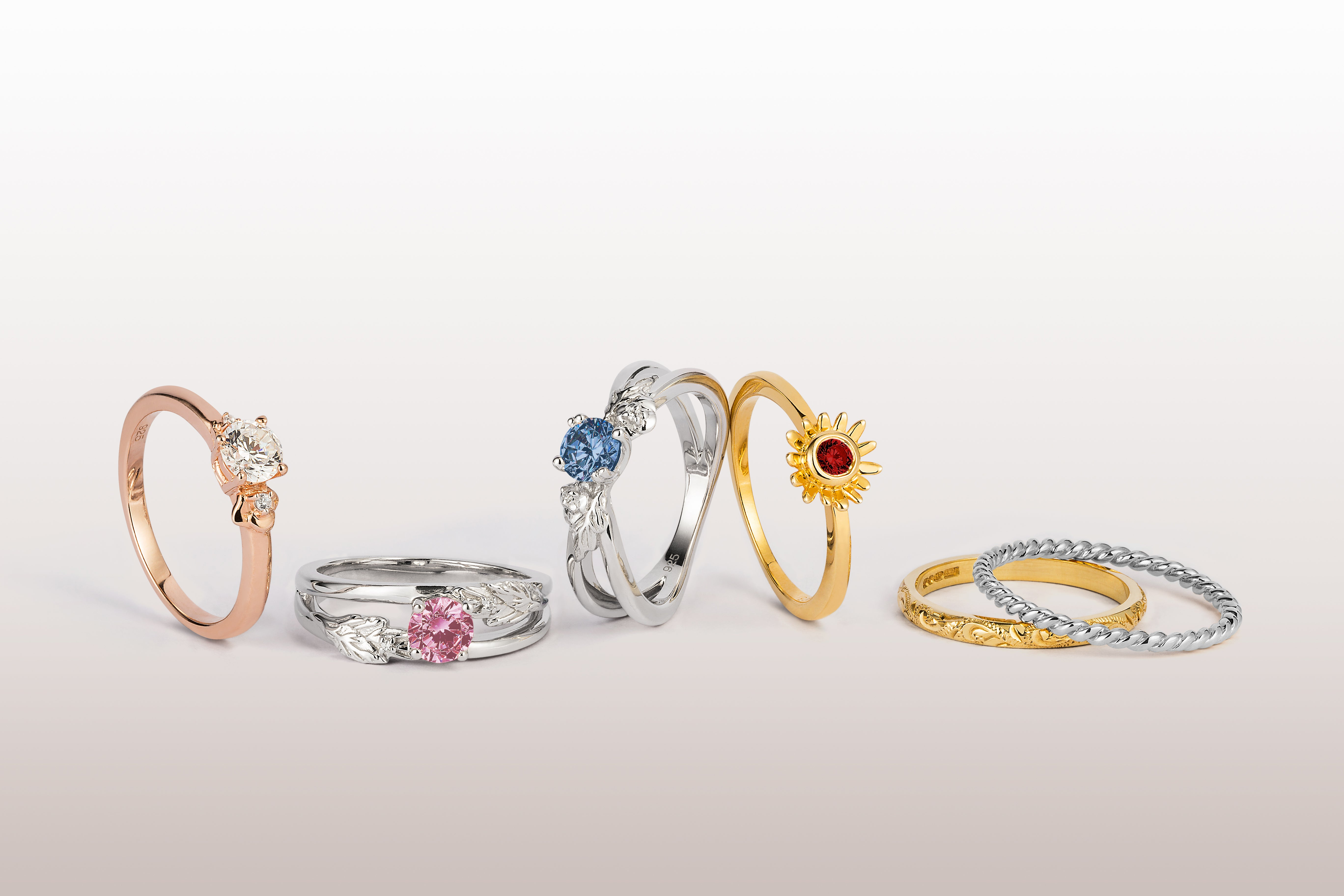 Arabel Lebrusan Ethical Engagement Rings