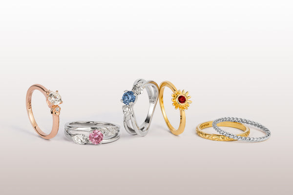 Arabel Lebrusan Gemstone Engagement Rings