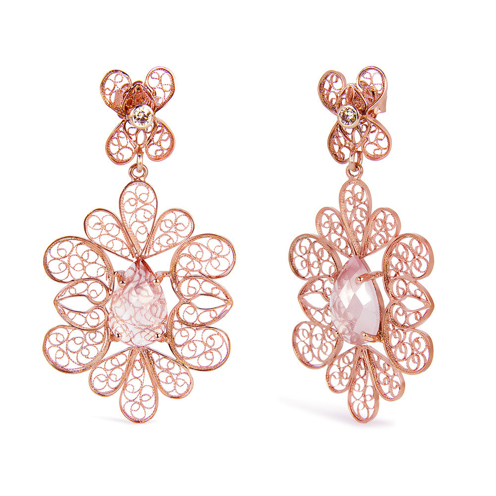 Arabel Lebrusan bespoke filigree earrings review testimonial