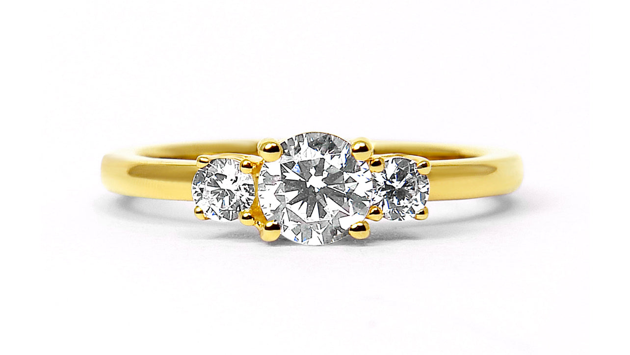 Arabel Lebrusan, Aphrodite Ethical Diamond Engagement Ring, 18ct Fairtrade Gold