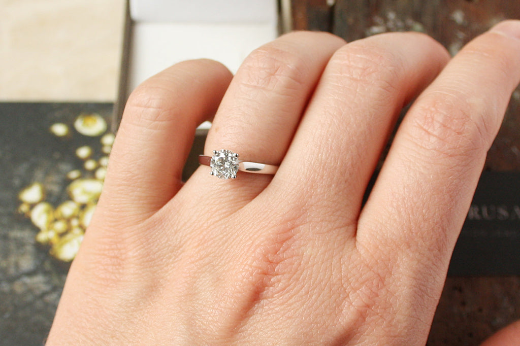 What To Do If Your Engagement Ring Turns Around Lebrusan Studio
