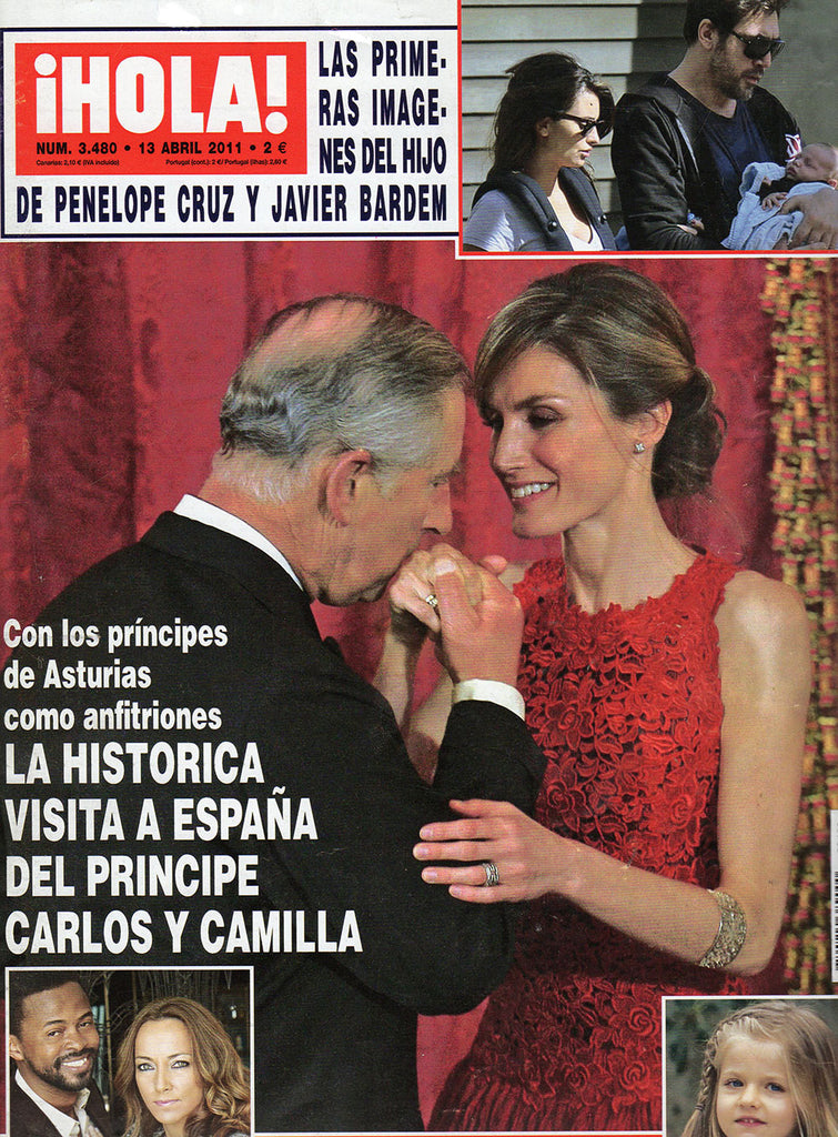 Arabel Lebrusan & Princess Letizia of Spain at Hola